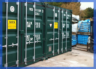 self storage containers for rent in Havant, Portsmouth, Hampshire